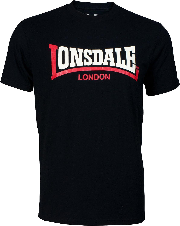 Lonsdale Camiseta Manga Corta Two Tone