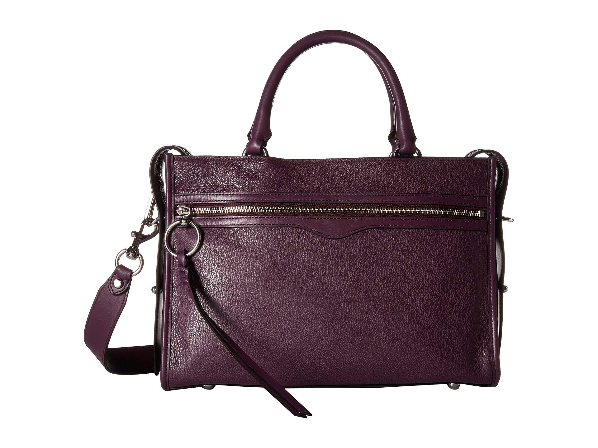 Rebecca Blackberry Satchel Bedford Zip Minkoff YnqrBY