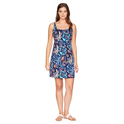 Tommy Bahama Bohemian Blossoms Sleeveless Dress (Ocean Deep) Women