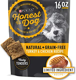 Honest to Dog Grain-Free, Natural, Limited Ingredient Dog Treats