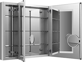 KOHLER K-99011-NA Verdera 40-Inch By 30-Inch Slow-Close Medicine Cabinet With Magnifying Mirror