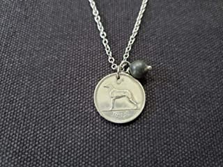 1968 sixpence necklace