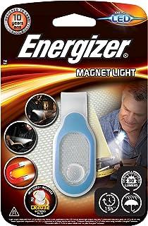 Energizer E300682402 E300682400-Luz Funcional LED con Clip magnético, 30 LM, 15 Horas, Resistente al Agua, tamaño Compact...