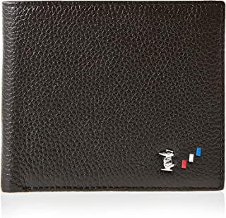 Doctor Bird Black Leather For Men - Bifold Wallets