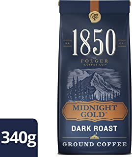 Folgers,1850 Midnight Gold Ground Coffee, 340g/12 oz. {Imported from Canada}