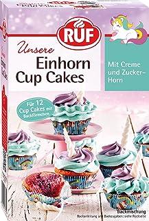 RUF Einhorn Cupcakes mit Creme und Fondant für 12 Stk, 365 g