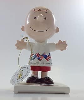 Peanuts Charlie Brown Figurine- Welcomes the World