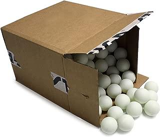 STIGA 2-Star White No Print Table Tennis Balls (144-Count)