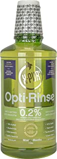 X-PUR Xylitol Mouthwash - 0.2% X-PUR Opti-Rinse Plus With Citrox - Antibacterial Mouthwash - Mint Flavored Alcohol-Free Mo...