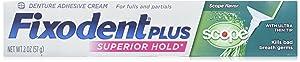 Fixodent + Scope Adhsve Size 2z Fixodent Control Denture Adhesive Plus Scope