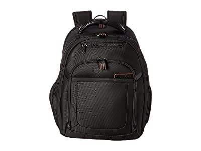 Samsonite PRO 4 DLX Backpack PFT/TSA (Black) Backpack Bags
