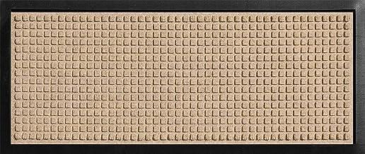 """WaterHog 室内/室外靴盘,SBR 橡胶背衬,91.44 cm 长 x 38.1 cm 宽,0.95 cm 厚 34"""" x 15"""" x 3/8"""" 4010"""