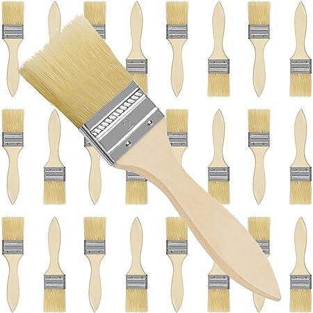 12 Stk PROFI Flachpinsel 75 mm Malerpinsel Pinsel Lackpinsel Lasurpinsel  Flach