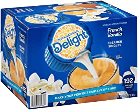 International Delight French Vanilla, 192 Count Single-Serve Coffee Creamers, 0g trans fat