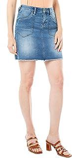 Women's Patch Pocket Skirt Vintage Premium