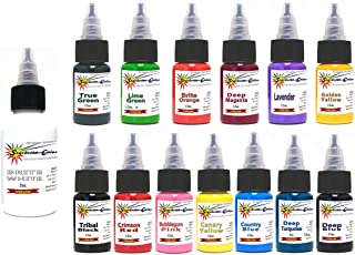 AUTHENTIC STARBRITE 14 Color Tattoo Ink Set Kit Starbright 1/2oz
