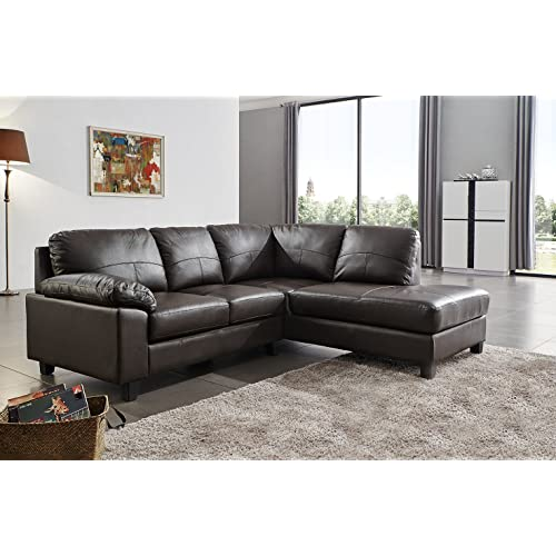 Leather Corner Sofas: Amazon.co.uk