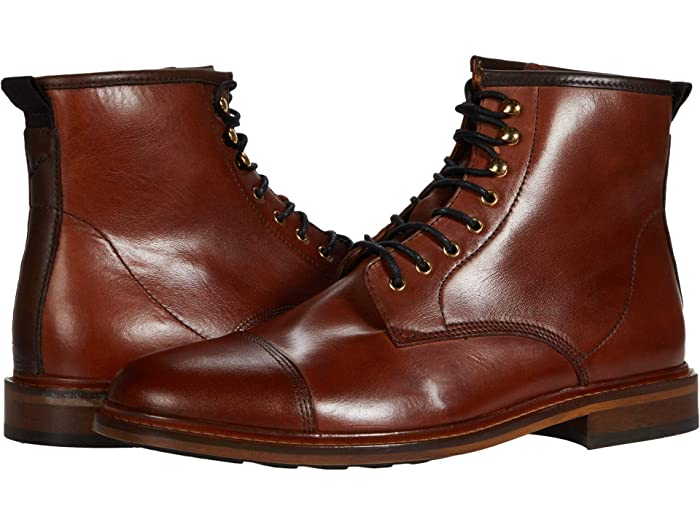 1920s Style Mens Shoes | Peaky Blinders Boots Shoe The Bear Curtis L Tan Mens Shoes $195.00 AT vintagedancer.com
