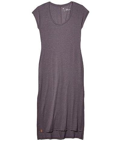 tentree Pipa Maxi Dress (Boulder Grey Heather) Women