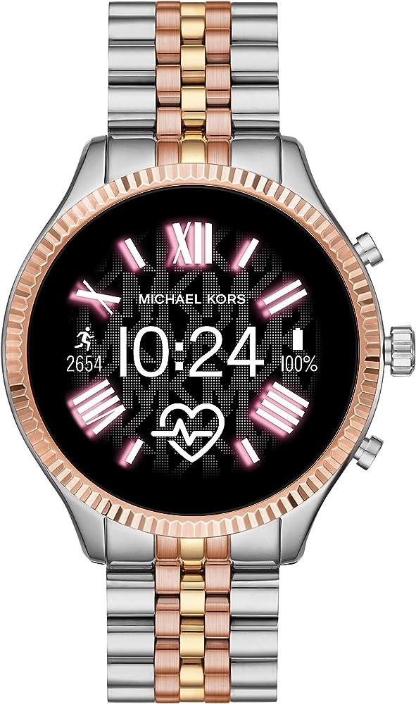 Smartwatch gen 5 lexington connected con wear os by google e altoparlante, gps, frequenza cardiaca MKT5080