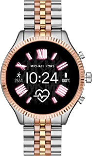 Michael Kors Gen 5 Lexington Women's Multicolor Dial Stainless Steel Digital Smartwatch - MKT5080