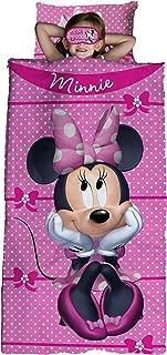 Jay Franco Bowtique 3 Piece Sleepover Set, Minnie Mouse
