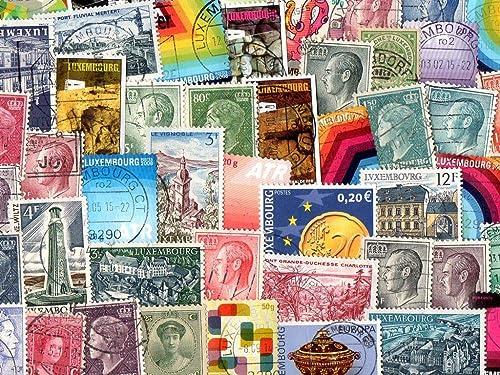 la mejor oferta de tienda online Pghstamps Pghstamps Pghstamps Luxemburgo 1000 Colección de Diferentes Sellos para coleccionistas  40% de descuento