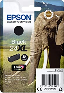 Epson T243140, 24XL Inkt (Xp-750 Xp-850 Xp-950 Xp-55 Xp-760 Xp-860 Xp-960 Xp-970), Zwart