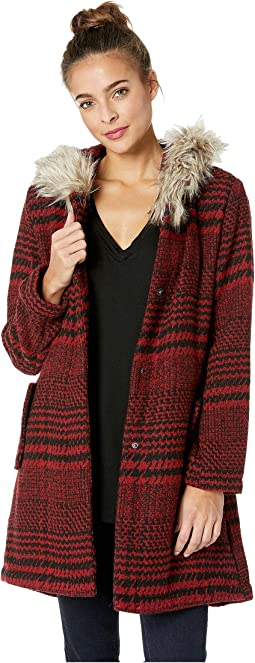Play it Cool Houndstooth Coat