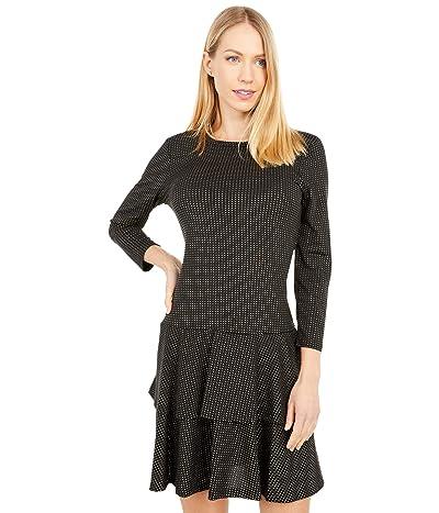 MICHAEL Michael Kors Metallic Dot Double Tier Dress Women