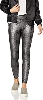 Women's Metallic Microsuede Leggings