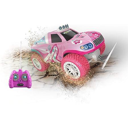 Exost Coche teledirigido - Super Wheel Truck Rosa - Escala 1:12, 20258
