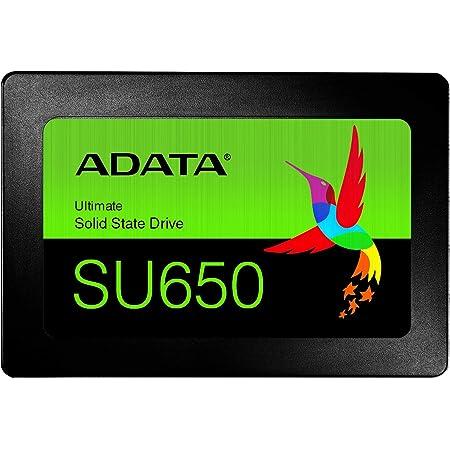 ADATA SSD 120GB SU650 SATA 6Gbps / 3D NAND / 3年保証 / ASU650SS-120GT-REC
