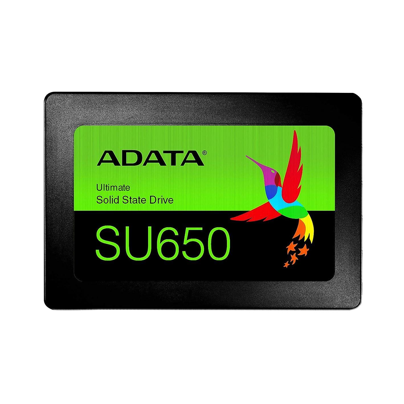 オートマトン滑りやすいレディADATA SSD 120GB SU650 SATA 6Gbps / 3D NAND / 3年保証 / ASU650SS-120GT-REC