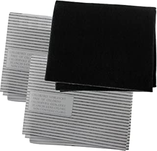 Spares2go Cooker Hood Carbon Grease Filter Kit For Electrolux Kitchen Extractor Fan Vent