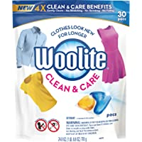 30-Count Woolite Clean & Care Laundry Detergent Pacs