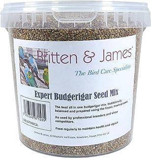 Comida Diaria Super Premium para periquitos de Britten & James. Tina Fresca de 2 litros