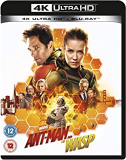 Ant-Man and the Wasp [4K Ultra HD + Blu-Ray] [2018] - Region Free