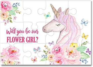 Flower Girl Gifts Flower Girl Proposal Puzzle