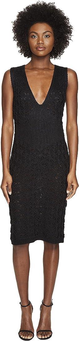 Dandelion Lace Knit Sleeveless Dress