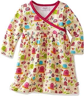 Zutano 女婴花园蜗牛长袖裹身裙