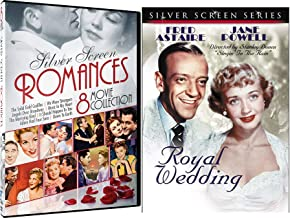 Silver Star Romance & Fred Astaire Royal Wedding DVD Angels Over Broadway / Solid Gold Cadillac / We Were Strangers / It Should Happen to You / Marrying Kind / Music in My Heart / Adam Had Four Sons