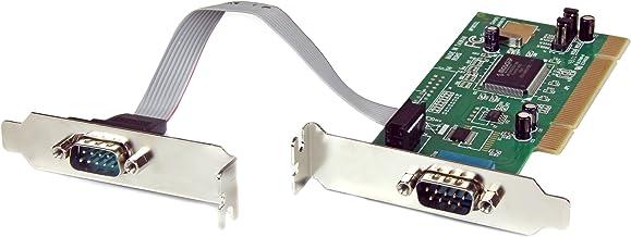 StarTech.com PCI2S550_LP - Tarjeta adaptadora PCI de 2 Puertos Serie RS232