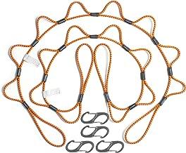 LOOPROPE 5LRO-C-2PK-C Orange 5' Tie Down, (Pack of 2)