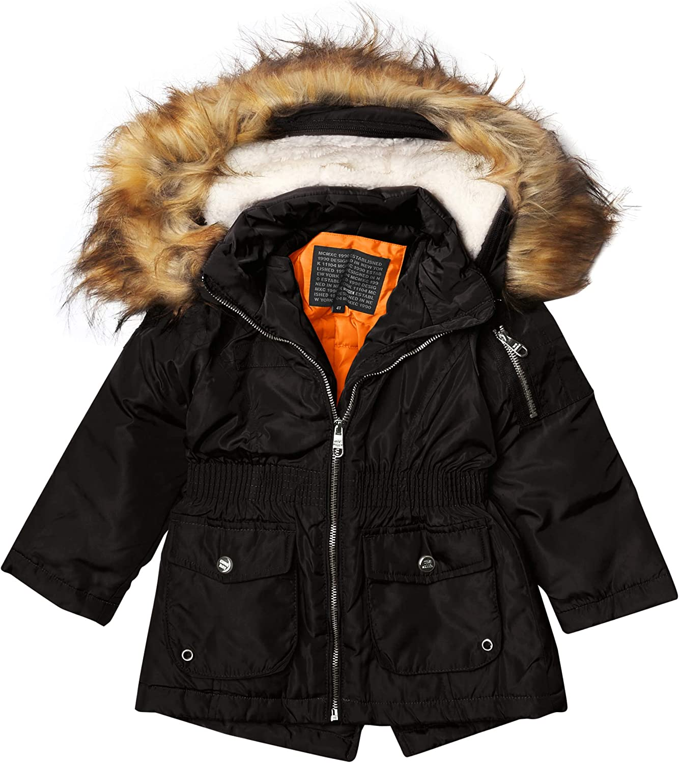 Steve Madden Girls' Luxury Special price for a limited time goods Jacket Med Weight