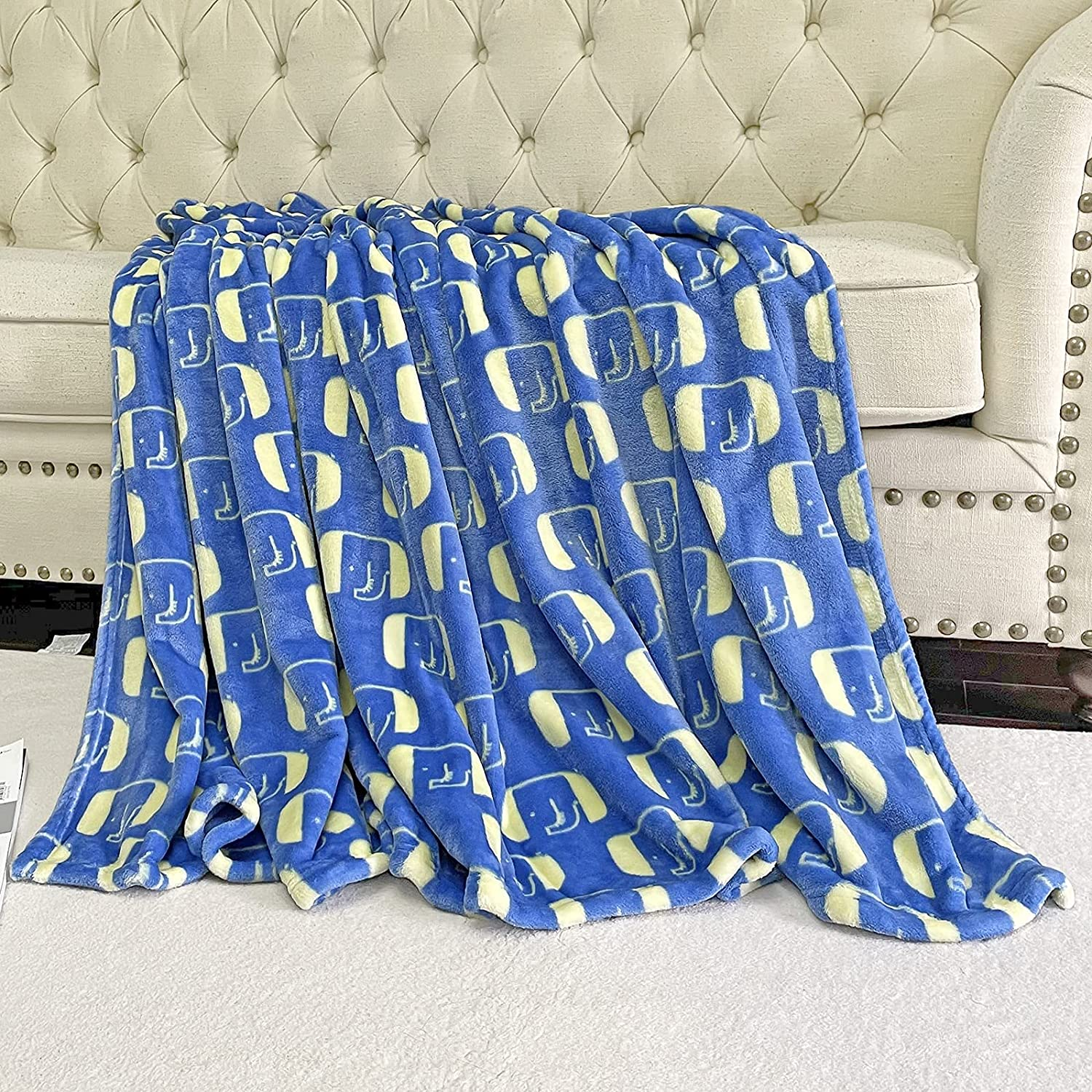 BT.WA Kids Blanket Flannel Throw for Soft Baby Cheap mail order sales T Max 88% OFF