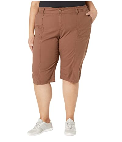 Prana Plus Size Knickers (Driftwood) Women