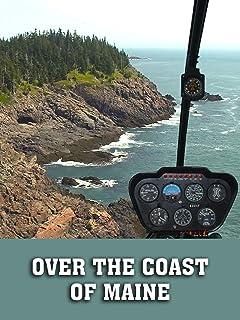Over the Coast of Maine
