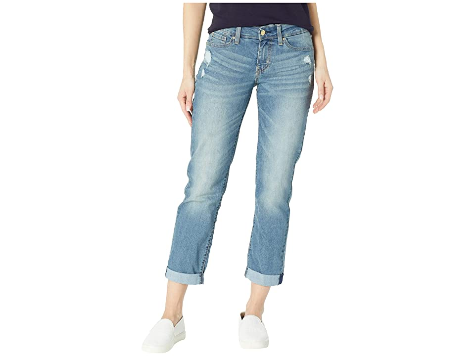 Signature by Levi Strauss & Co. Gold Label Mid-Rise Slim Boyfriend Jeans (Rumi) Women