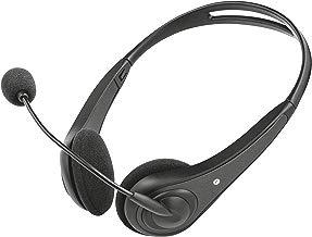 Trust InSonic - Auriculares con micrófono para PC, Color Negro
